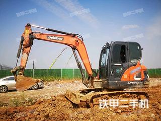 江西-九江市二手斗山DX60E-9CN挖掘机实拍照片