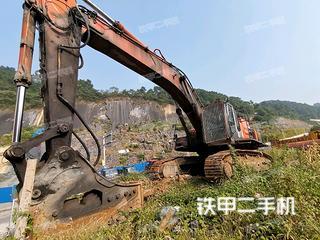 广西-桂林市二手日立ZX450LC-3挖掘机实拍照片