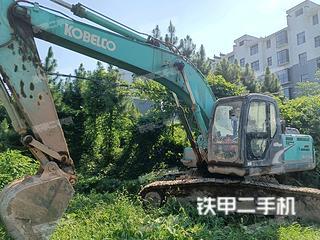 宜春神钢SK210LC-8挖掘机实拍图片