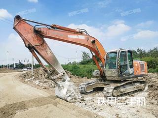 泰安日立ZX200-3挖掘機實拍圖片