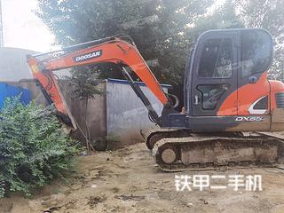山东-烟台市二手斗山DX55-9C挖掘机实拍照片