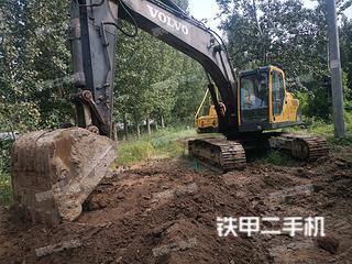衡水沃爾沃EC210BLC挖掘機實拍圖片