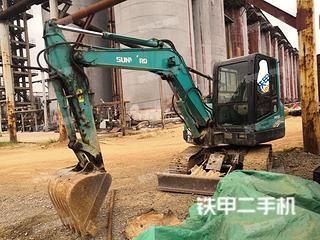 贵州-黔东南苗族侗族自治州二手山河智能SWE60E挖掘机实拍照片