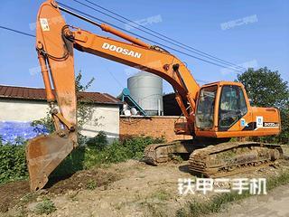 泰安斗山DH220LC-7挖掘機實拍圖片