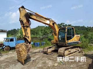 現代R150LC-9挖掘機實拍圖片