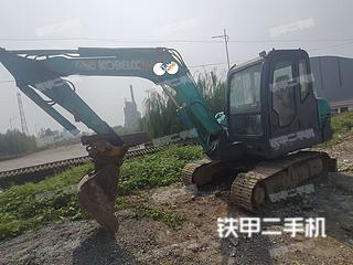 河南-鹤壁市二手神钢SK60-C挖掘机实拍照片