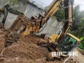 浙江-杭州市二手小松PC100-6E挖掘机实拍照片