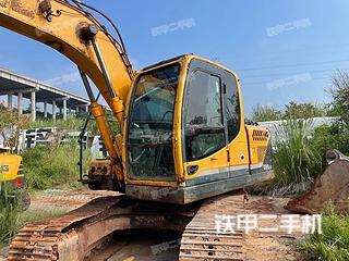 巴中現代R150LC-9挖掘機實拍圖片