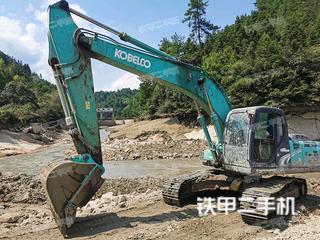 綏化神鋼SK210LC-8挖掘機實拍圖片