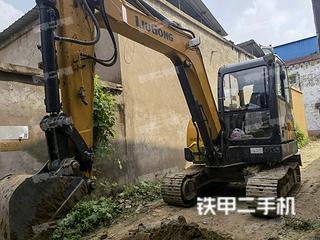 河南-开封市二手柳工CLG906E挖掘机实拍照片