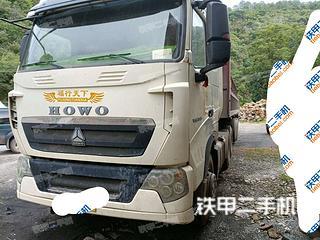 二手中国重汽 6X4 平板运输车转让出售