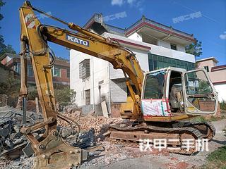 濰坊加藤HD513MRIII挖掘機實拍圖片