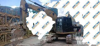巴中卡特彼勒312D2GC挖掘機實拍圖片