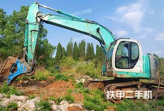 永州神钢SK235SR挖掘机实拍图片