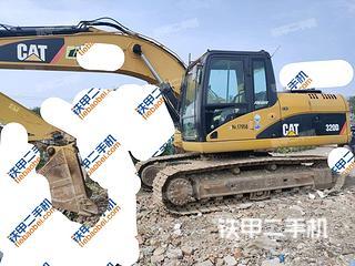 天津卡特彼勒320D液壓挖掘機實拍圖片