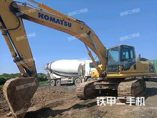 陕西-西安市二手小松PC360-8M0挖掘机实拍照片