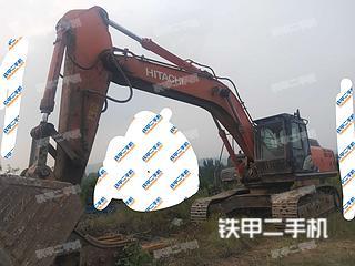 日立ZX400LCH-5A挖掘機實拍圖片