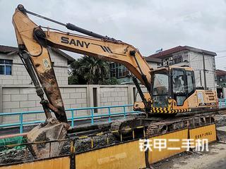 上海三一重工SY205C挖掘機實拍圖片