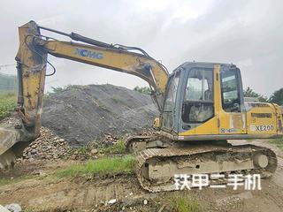 四川-乐山市二手徐工XE135B挖掘机实拍照片