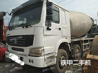 中國重汽ZZ5255GJBN4346C1攪拌運輸車實拍圖片