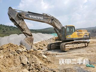 沃爾沃EC480DL挖掘機實拍圖片