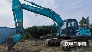 神鋼SK210LC-8挖掘機實拍圖片