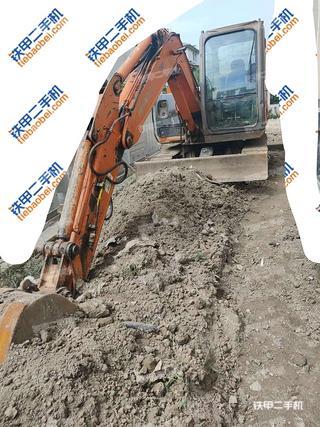 天津日立ZX60挖掘機實拍圖片