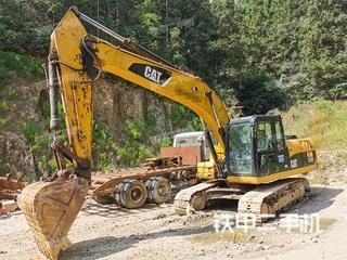 湖南-郴州市二手卡特彼勒320D液压挖掘机实拍照片