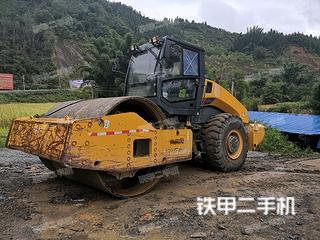 贵州-黔南布依族苗族自治州二手柳工CLG6626E(单驱)压路机实拍照片
