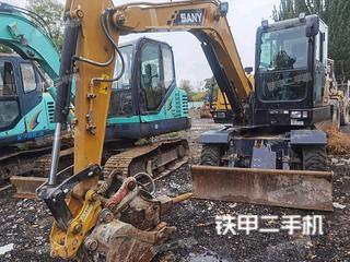 三一重工SY65W挖掘機實拍圖片