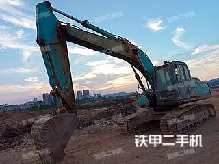 吉安神鋼SK210LC-8挖掘機實拍圖片