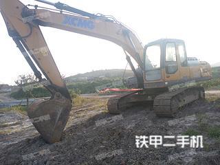 山东-日照市二手徐工XE215D挖掘机实拍照片