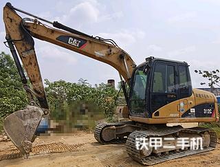 卡特彼勒312C挖掘機實拍圖片