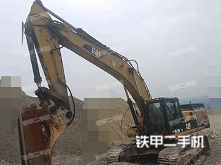 河南-南阳市二手卡特彼勒345D挖掘机实拍照片