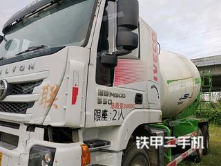 瑞江WL5250GJBCQ44攪拌運輸車實拍圖片