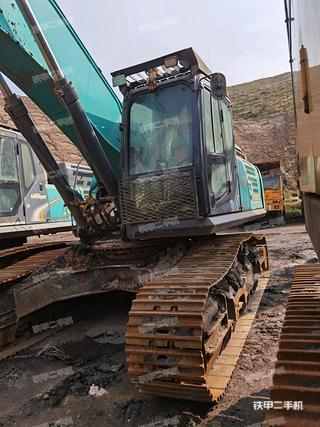 海南神鋼SK380XD-10挖掘機實拍圖片