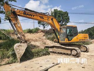 溫州三一重工SY215C挖掘機實拍圖片