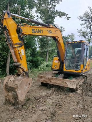 天津三一重工SY65C挖掘機實拍圖片