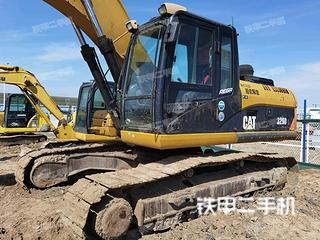 海南卡特彼勒326DL挖掘機實拍圖片