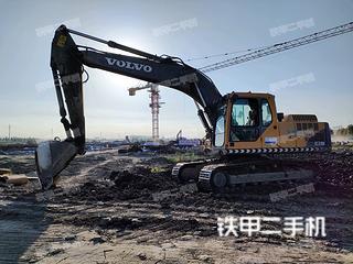 赤峰沃爾沃EC210B挖掘機實拍圖片