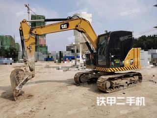 蚌埠卡特彼勒307.5小型液壓挖掘機實拍圖片