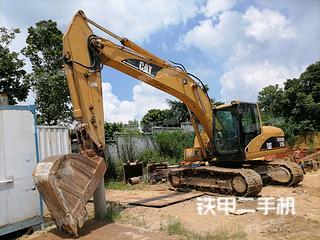 陽江卡特彼勒320C挖掘機實拍圖片