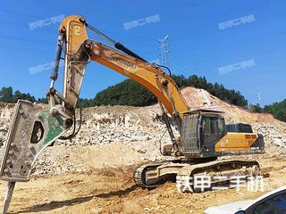 現代R485LVS挖掘機實拍圖片
