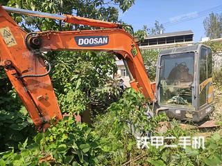 江西-九江市二手斗山DH60-7挖掘机实拍照片