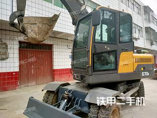 臨工金利LG670BM挖掘機實拍圖片