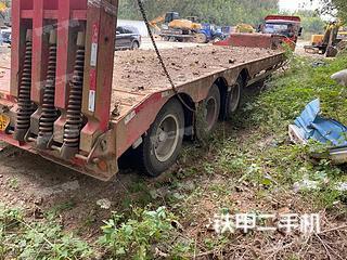 二手中国重汽 8X4 平板运输车转让出售