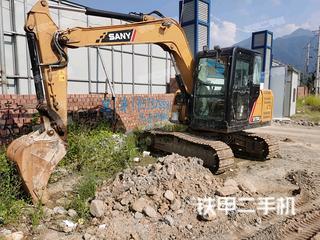 杭州三一重工SY75C挖掘機實拍圖片