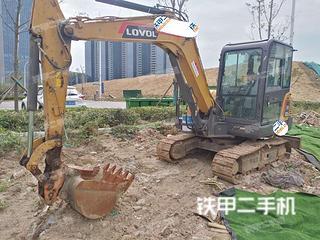 山东-日照市二手雷沃重工FR60E挖掘机实拍照片