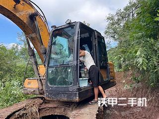 巴中三一重工SY135C挖掘機實拍圖片