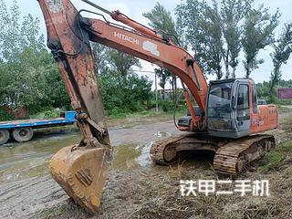 濱州日立ZX210K挖掘機實拍圖片